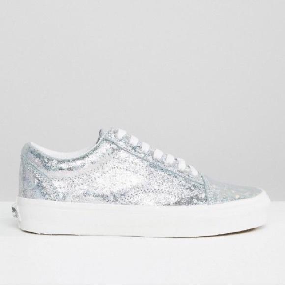 ea88459d80 Old Vans Skool Shoes Poshmark Hologram w8c6Xqv6